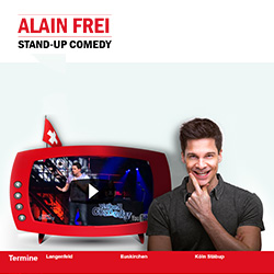 Alain Frei, Stand-Up Comedy